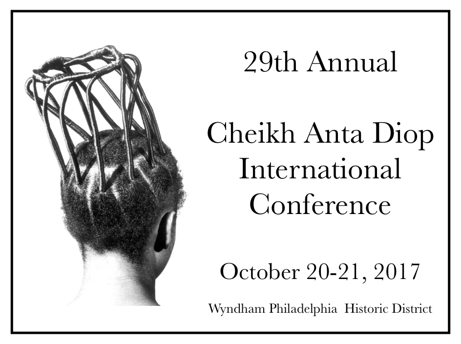 Flyer Philadelphia Diop Conference 2017